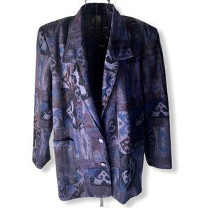 G.W. Petite Vintage NWT Long Blazer Size 14P